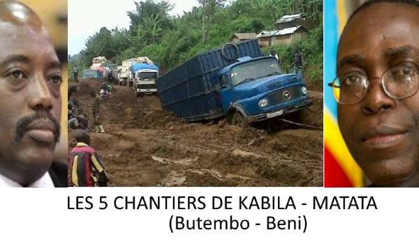 Les 5 Chantiers de Joseph Kabila et Matata Mponyo (l'Economiste)