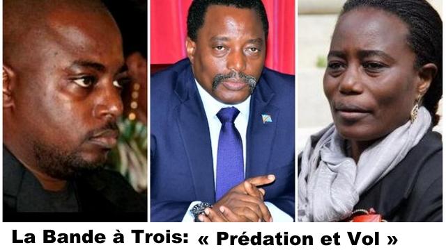 Zoé Kabila, Joseph Kabila et Jaynet Kabila