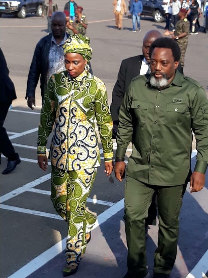 Madame Olive Lembe, Joseph Kabila