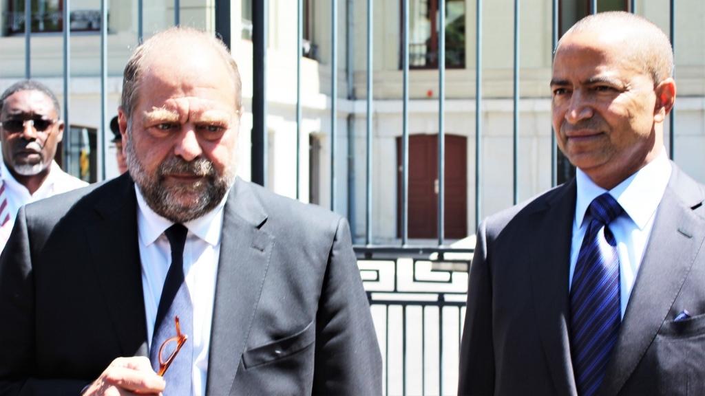 Me Éric Dupond-Moretti et Moise Katumbi