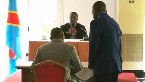 Joseph Kabila, ministre du FCC