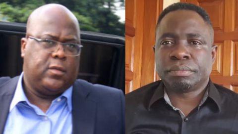 Felix Tshisekedi et Timothée Tshaombo Shutsha