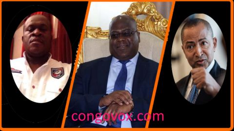 Fortunat Biselele (alias Bifor), Felix Tshisekedi, Moise Katumbi