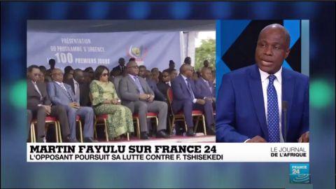 Martin Fayulu, France24
