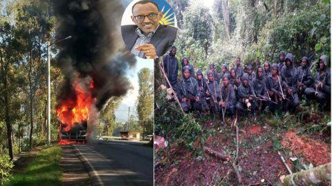 Les rebelles rwandais