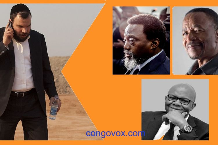 Dan Gentler , Joseph kabila, Paul Fokam , Willy Mulamba