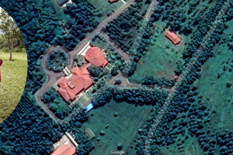 Images de Kingankati Par Satellite